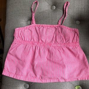 Other - Cotton Gingham Camisole girl XS (4-5)